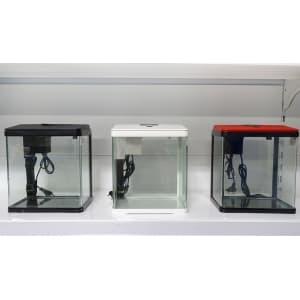 Аквариум PRIME, 15л с LED светильником, фильтром и кормушкой