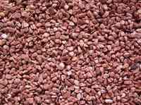 Грунт аквариумный Кварц натуральный красный 3-4мм 5кг