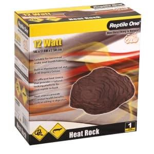 Греющий камень для террариума Reptile One Heat Rock 18,5х14,8 см, с встроенным термостатом (12W)