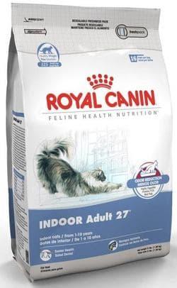 Роял Канин Indoor 27 4 кг питание для кошек, живущих в помещении, в возрасте от 1-го года до 10-ти лет в хорошей физической форме