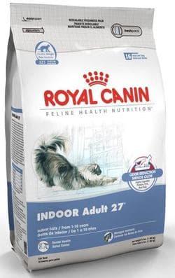 Роял Канин Indoor 27 10 кг питание для кошек, живущих в помещении, в возрасте от 1-го года до 10-ти лет в хорошей физической форме