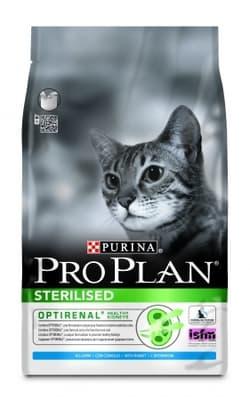 PRO PLAN STERILISED для стерилизованных кошек Кролик 10кг