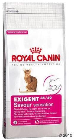 Роял Канин Exigent 35/30 Savour sensation (Экзиджент Сэйвор Сенсейшн) 10 кг питание для взыскательных кошек