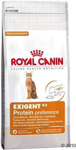 Роял Канин Exigent 42 Protein preference (Экзиджент Протеин Преференс) 4 кг для к привередливых к составу продукта