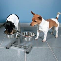 Стойка с мисками для собак Trixie 2 х 0,75 л артикул .24920