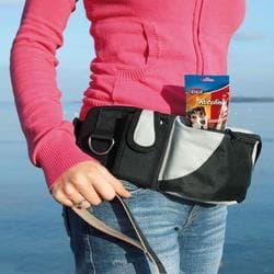 """Сумка на пояс """"Baggy Belt"""", ремень 62-125 см, черный/серый"""
