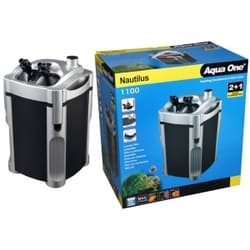 Внешний фильтр для аквариумов AquaOne Nautilus 1100, 1100л/ч, 22W, для аквариумов до 300 л.