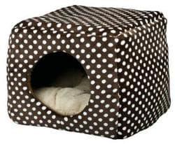Trixie Домик-лежак-пещера Мина 40х32х40 см беж/корич артикул 36324