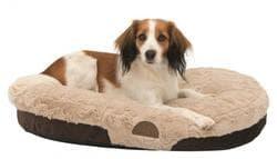 Лежак для собак Malu, 100х75 см, коричневый/светло-коричневый артикул 38909
