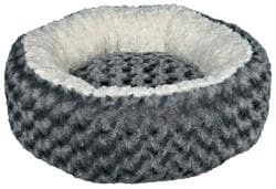 Лежак Kaline для собак диаметр 50 см, серый-кремовый артикул .38958