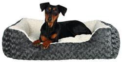 Лежак Kaline 65Х50 см, серый-кремовый артикул .38962