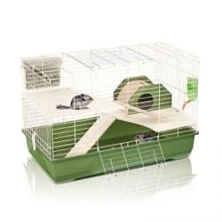 Имак клетка для грызунов WOODY 100, зеленый, 100х54,5х66см