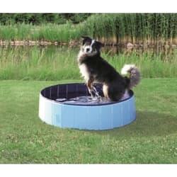 Бассейн для собак Trixie D 120Х 30 см, голубой/синий артикул 39482