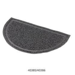 Коврик для кошачьего туалета 59х35см, ПВХ, антрацит артикул .40386