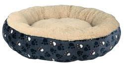 Лежак Tammy для собак ф 50 cm, синий-бежевый артикул 37377