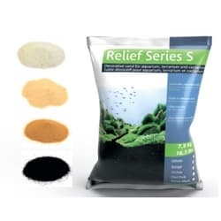 Песок декоративный Prodibio Relief Series S, белый, 1кг