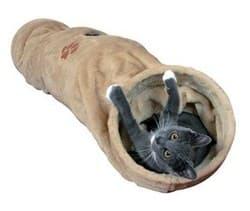 Trixie Тоннель для кошки, плюш 25х125 см , беж. артикул .43001
