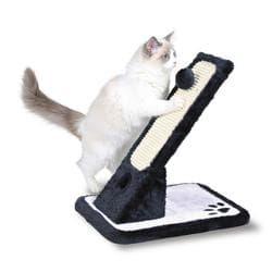 Trixie Когтеточка доска наклонная, 30х42х40см., черный/белый артикул .43115