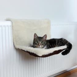 Trixie Гамак для кошки, 45х26х31 см, на радиатор бежевый артикул 43141