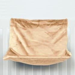 Trixie Гамак для кошки 40х30х27 см, на радиатор, бежевый артикул 43201