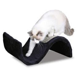 Trixie Когтеточка для кошек Волна плюш-сизаль артикул 43260 корич артикул 43267 черная