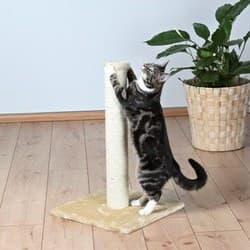 Trixie Когтеточка для кошки Parla высота беж и серый артикул 4333
