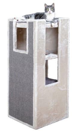 Trixie Домик для кошки башня Сарита , 45х45х100 см, бежевый артикул 43379 ТОЛЬКО ПОД ЗАКАЗ