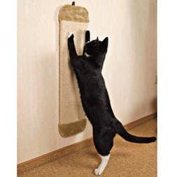 Trixie Когтеточка-доска Jumbo 78 х 18 см сизаль-плюш, бежевый артикул .4342