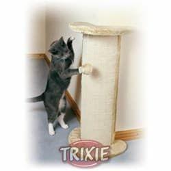Trixie Когтеточка угловая для кошек Lorca с игрушкой бежевая артикул 4350