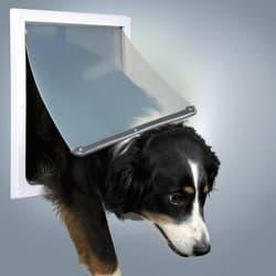 Trixie Дверца врезная для собак размер-XL, белая (38,0х30,8см) артикул 3879