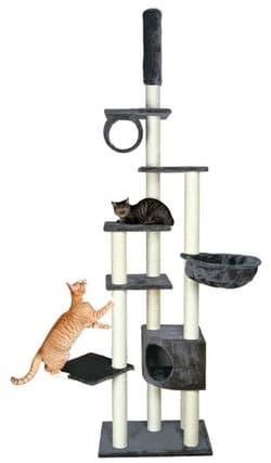 Trixie Домик для кошки Madrid серый 43902