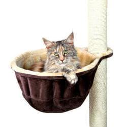 Trixie Гамак для кошки к домику, ф 38 см, бежевый/коричневый артикул .43910