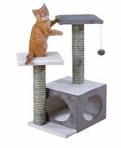 Trixie Домик для кошки Neo 44х33х71 см, кремовый серый 44042