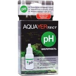 AQUAYER тест Для воды PH, 15 ml
