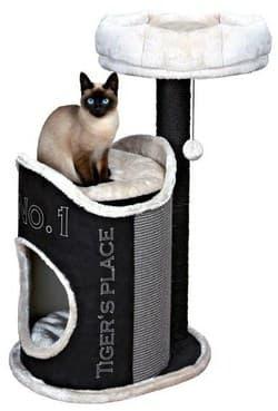 Trixie Домик для кошки Susana черный артикул 44415