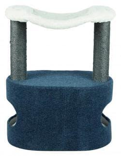 Домик для кошки Meo, 72 см, синий / белый артикул 44422