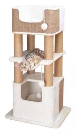 Trixie Домик-когтеточка Lucano 110 см, белый артикул 44669