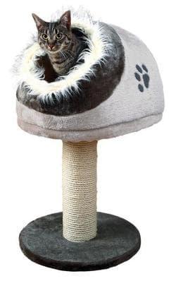 Trixie Домик для кошки Minou темно-серый-светло-серый ар.44962