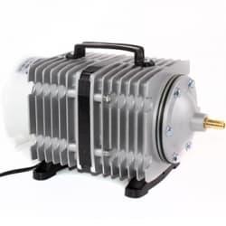 Компрессор Electrical Magnetic AC 385W (300л/мин), поршневый, алюминиевый корпус для рыбоводства, септиков и прудов