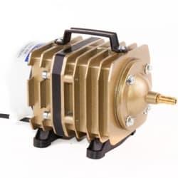 Компрессор Electrical Magnetic AC 45W (50л/мин), поршневый, алюминиевый корпус для рыбоводства, септиков и прудов