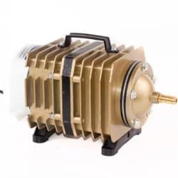 Компрессор Electrical Magnetic AC 80W (70л/мин), поршневый, алюминиевый корпус для рыбоводства, септиков и прудов