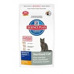 ХИЛЛс Корм сухой для стерилизованных пож. кошек 7- 3,5 кг