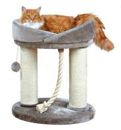 Trixie Когтеточка с лежаком для кошки Марсела серый артикул 47062