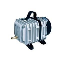 Электромагнитный поршневой компрессор в алюминиевом корпусе, 75W