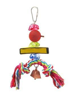 Игрушка для птиц Фруктовый Кебаб-маленький (7.62x7.62x20см)