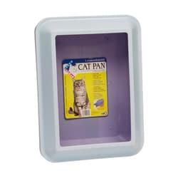 HAGEN Туалет для кошек с бортиком (средний),мраморно-голубой/фиолетовый артикул 50922 Размеры: 48х38х15 см