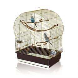 Имак клетка для птиц ANDORRA, золото, 61х38х76см