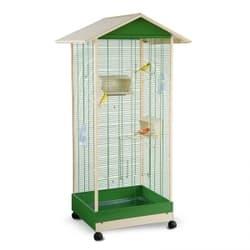 Имак клетка для птиц LOBELIA, пепельно-синий, 84,5х72,5х165,5см