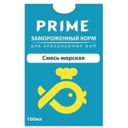 Смесь морская замороженная PRIME упаковка из 10 блистеров по 100 мл