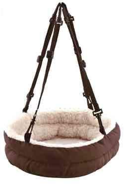 Лежак-гамак подвесной для мелких животных, 30х8х25 см